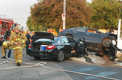 Man Ejected, Seriously Injured in Sun Valley Crash