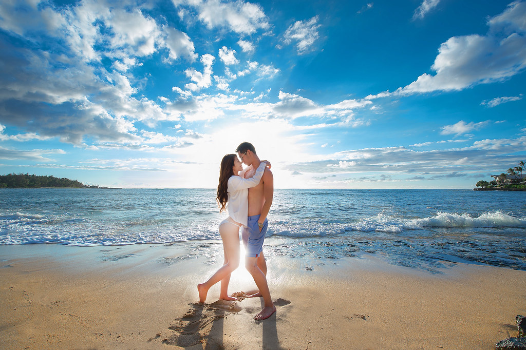 """""""夏威夷婚禮,戶外婚禮,沙灘婚禮,海邊婚禮,性感婚紗,裸體婚紗,婚攝Mike,婚禮攝影,婚攝推薦,婚攝價格,海外婚紗,海外婚禮,風格攝影師,新秘Juin,wedding"""""""