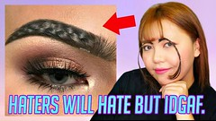 BRAIDED EYEBROWS TREND