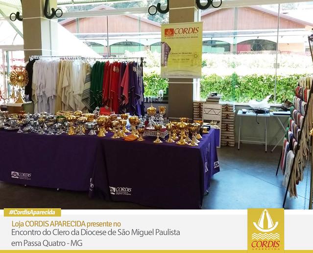 CORDIS Aparecida presente no Encontro do Clero da Diocese de São Miguel Paulista