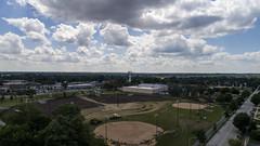 Beautiful clouds over Oak Lawn