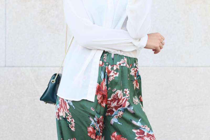 pantalon kimono