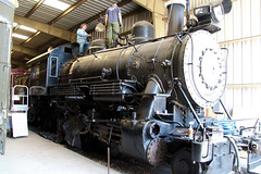 Ventura County Railway No. 2 Steam Engine, Orange Empire Railway Museum, Perris, CA