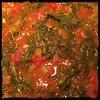 #StewedTomatoes #Callaloo #jamaicianStyle #homegrown #homemade #CucinaDelloZio -