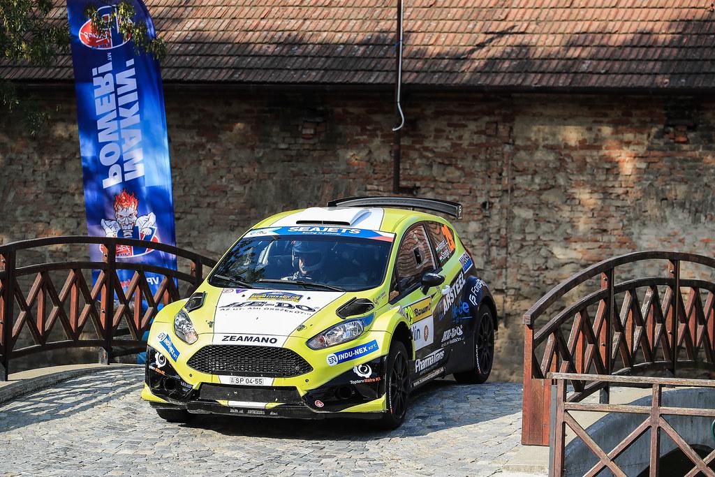 29 NEMET Laszlo (HUN) SZEGO Anos (HUN) Ford Fiesta R5 action during the 2017 European Rally Championship ERC Barum rally,  from August 25 to 27, at Zlin, Czech Republic - Photo Jorge Cunha / DPPI