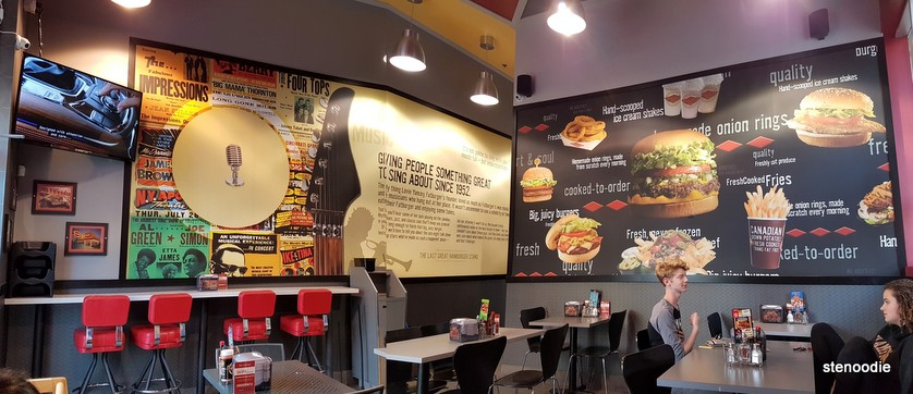 Fatburger interior