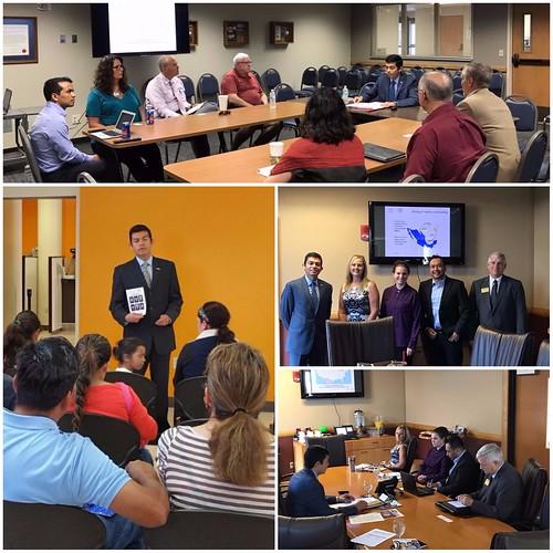 Consulado de México promueve alianzas con sector privado y autoridades en suroeste de Kansas