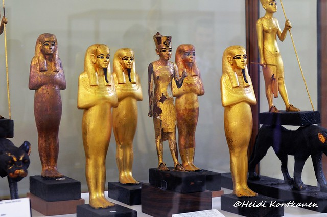 Statuettes from the tomb of Tutankhamun
