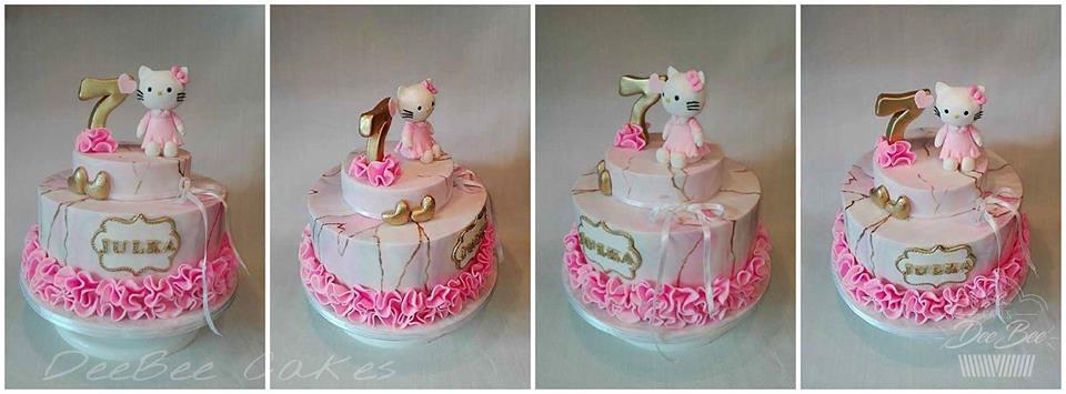 Cake by Dorota Bondarczyk of DeeBee Cakes Portadown
