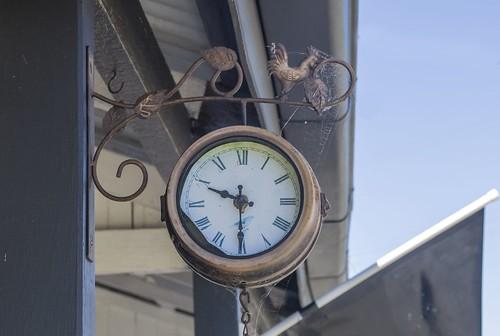 Ulong village clock