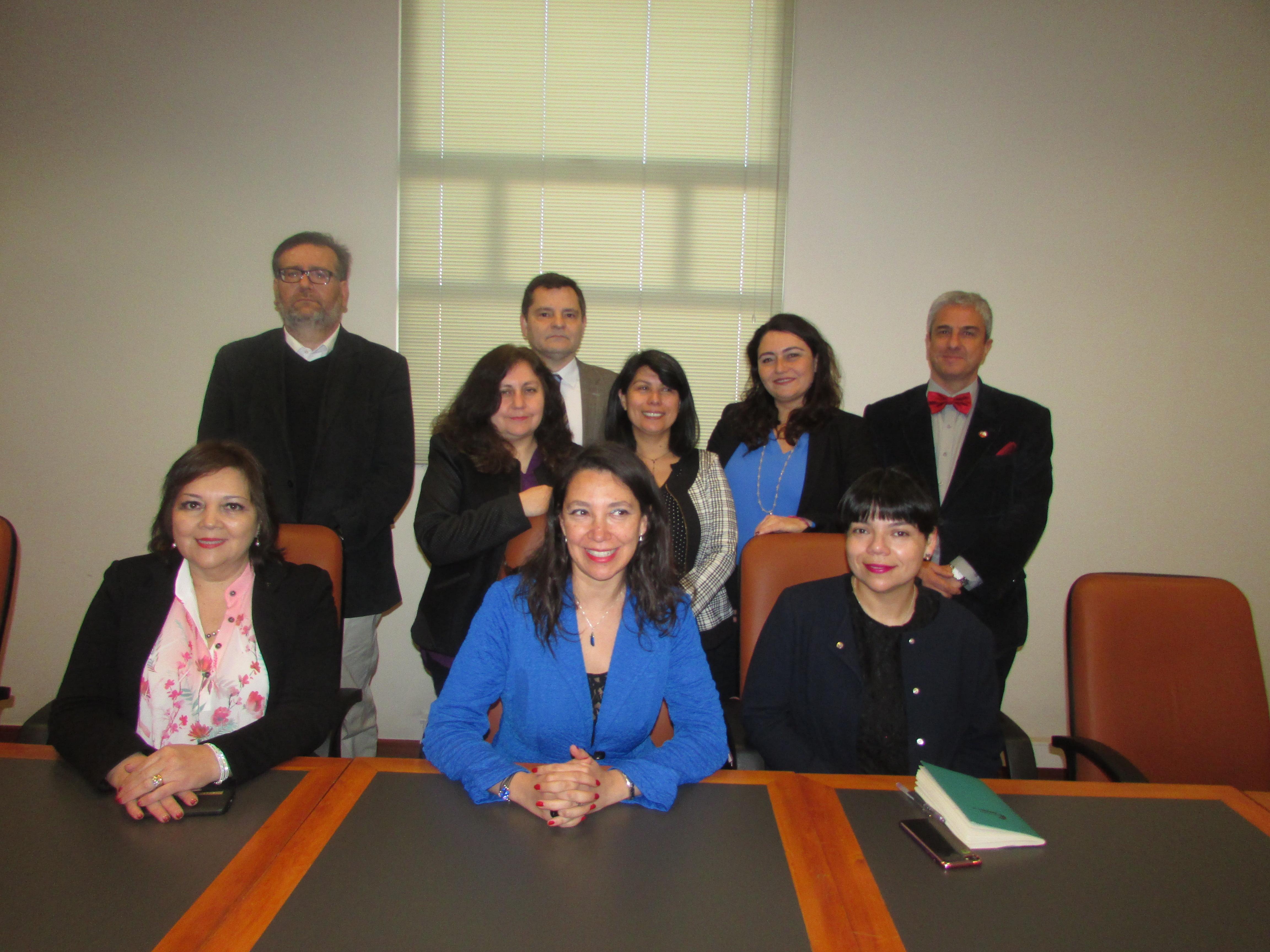 FTH se reúne con Subsecretaria de Hacienda, Macarena Lobos - 22 Septiembre 2017