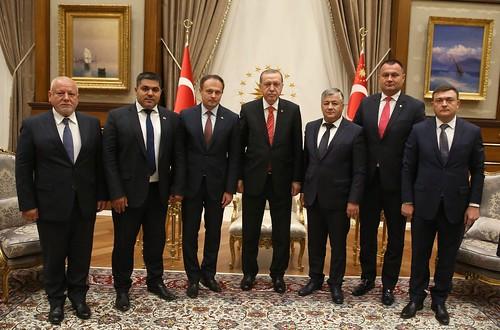 intrevedere presedintele Turciei. 13.09.2017