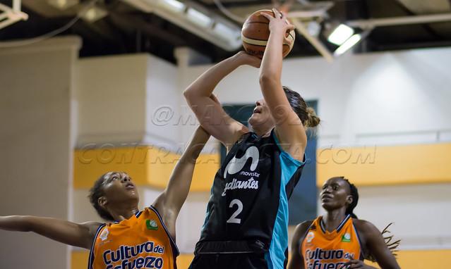 presentación Estudiantes LF Valencia Basket