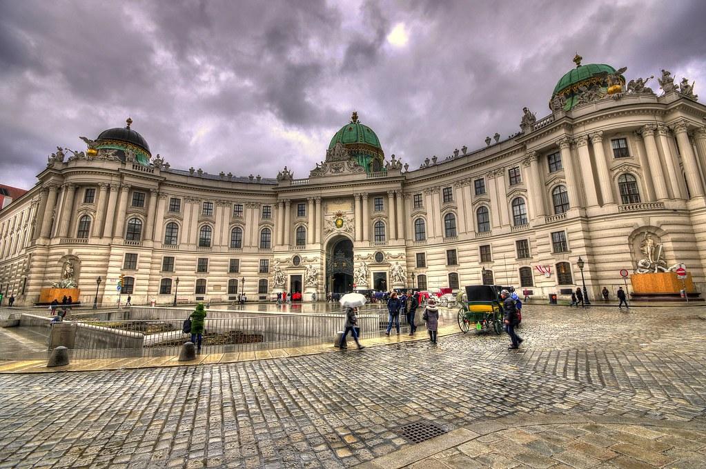 Hofburg in Vienna