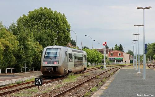 SNCF X73772 - Le Buisson 21/07/2017