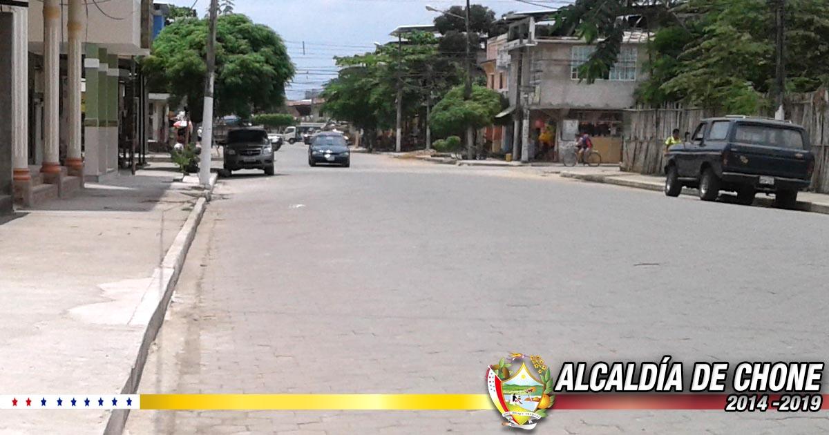 En Chone barrio Juan Montalvo celebra sus fiestas