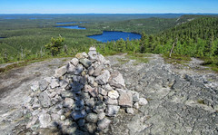 Hiking to th top of Valtavaara