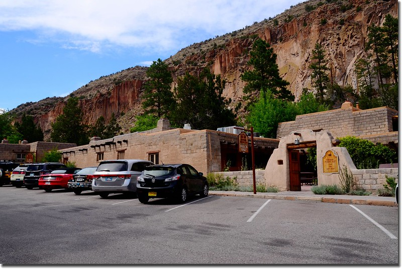 Gift shop at Bandelier National Monument 1