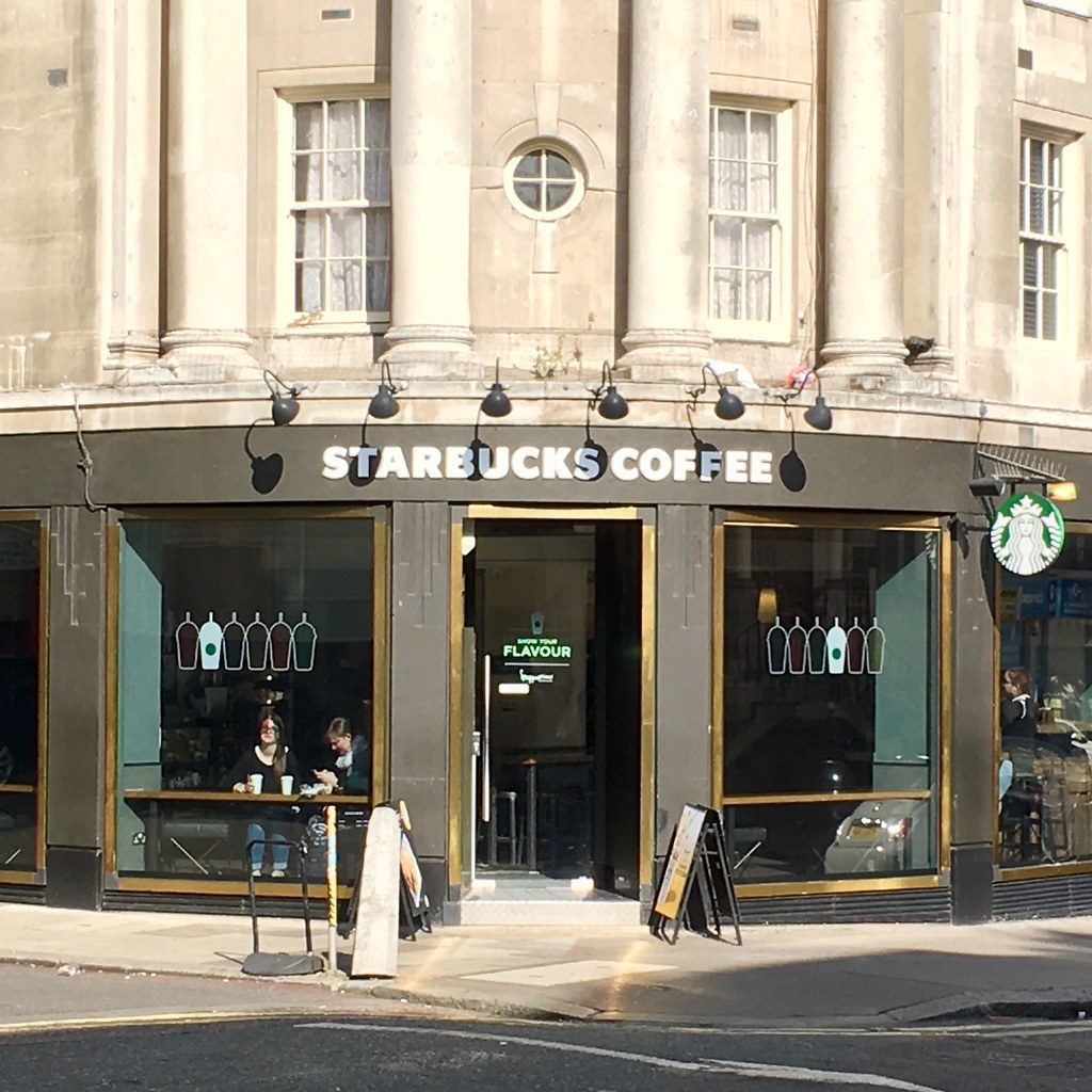 w2 from starbucks  Starbucks, 8-8 Queensway, London W8 8QH | droolworthy | Flickr