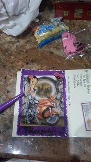 Page Entry in Betty Boop deco...