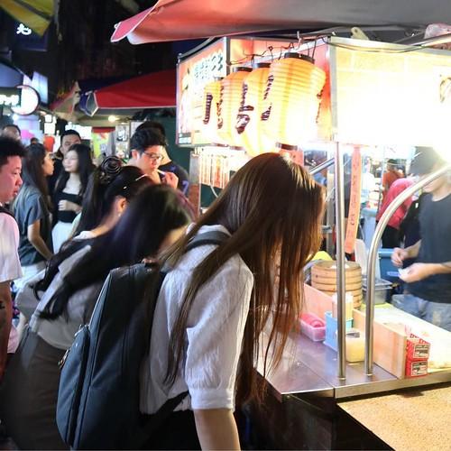 小籠包のお店。 #饒河街観光夜市 #台北 #台湾 #食べ歩き