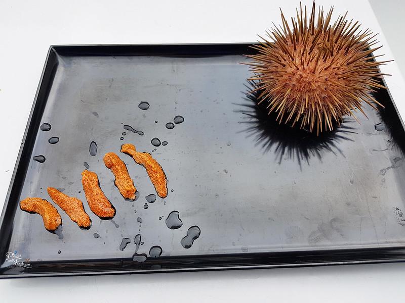 sea urchin uni sashimi
