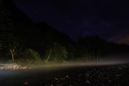 上高地夜景