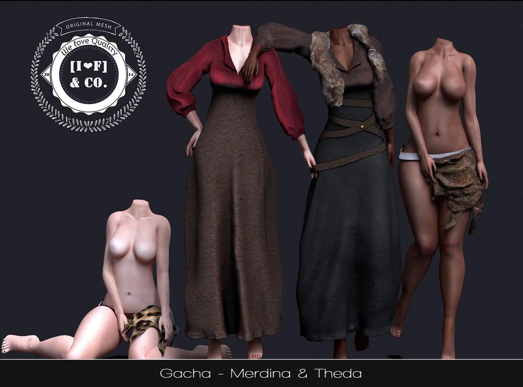 [I<3G] Merdina & Theda @ Fantasy Gacha - SecondLifeHub.com