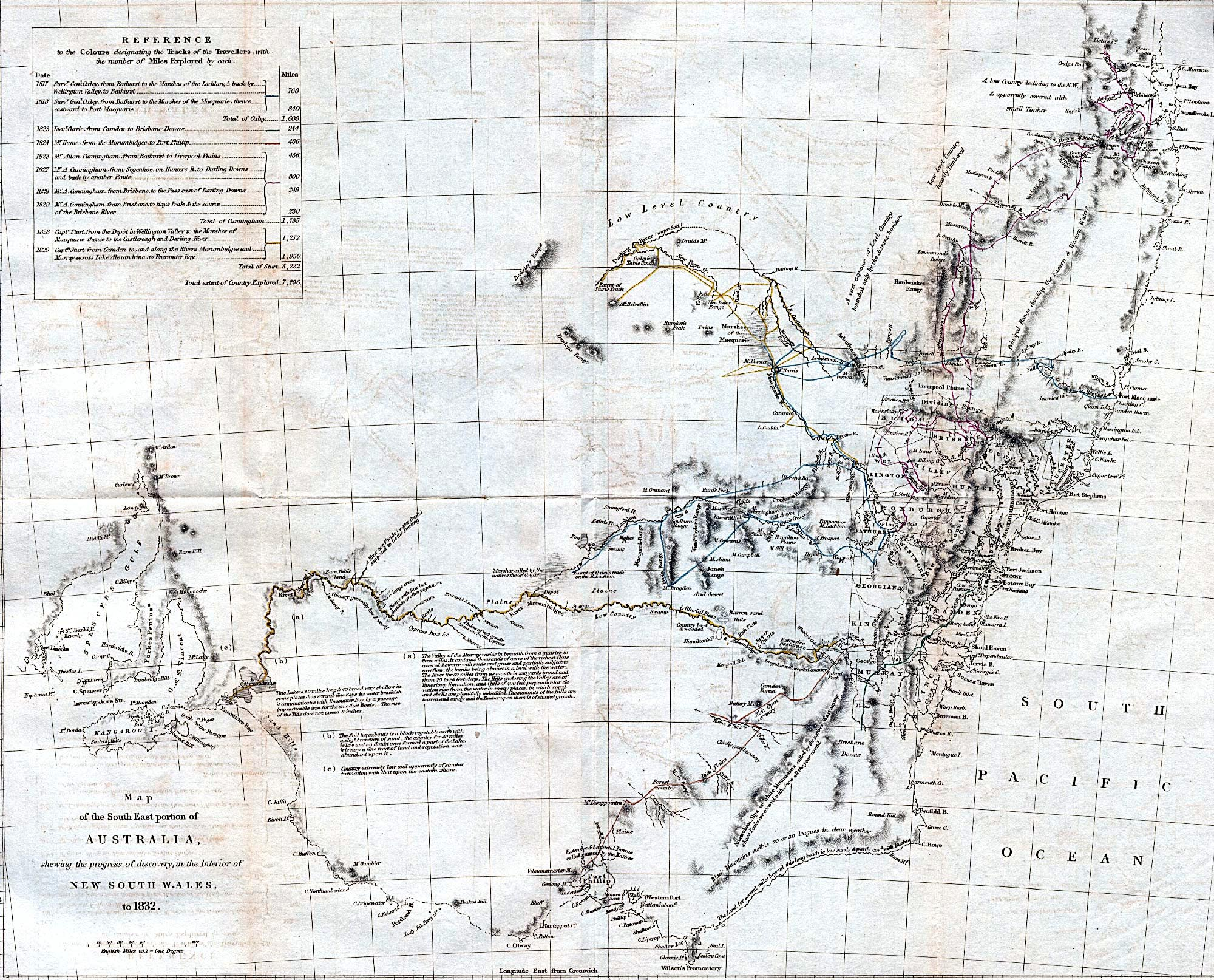 New South Wales Map 1832