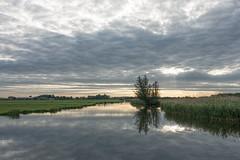 A cloudy dawn