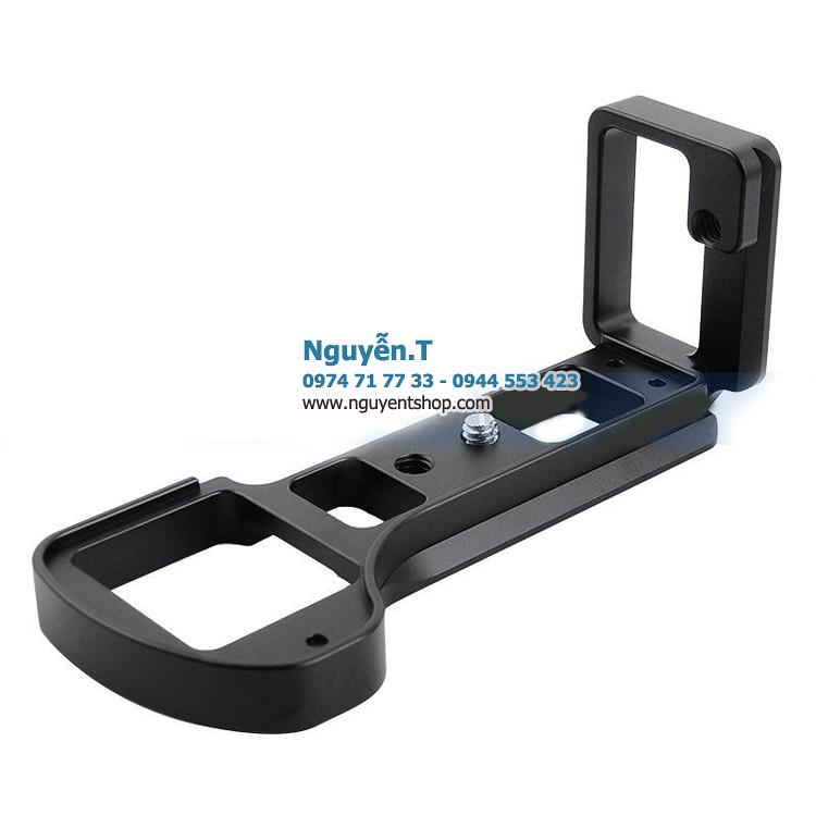 Khung nhôm CNC Bracket L tháo nhanh Sony A6300