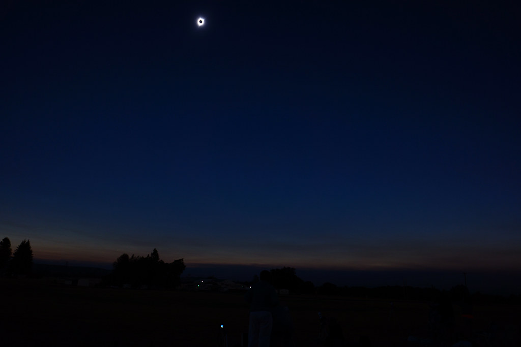Totality - simply amazing! taken by the hubby