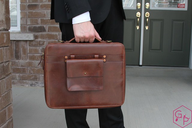 Review @SatchelandPage Port Series - Daily Carry Mobile Office 19
