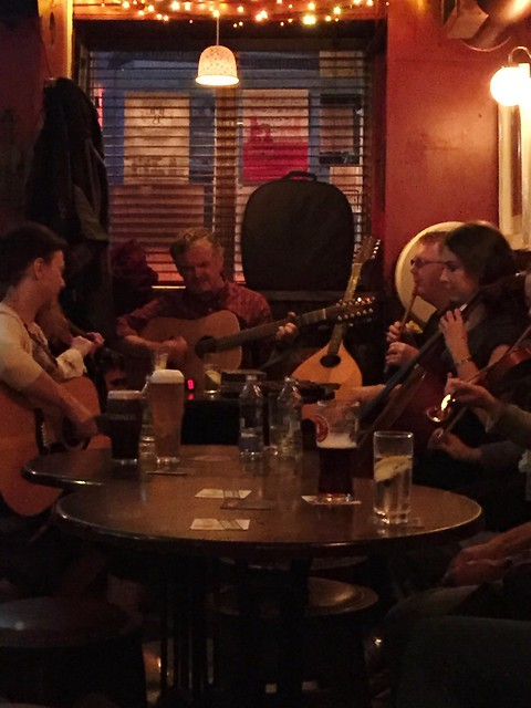 Irish Musicians in Cleere's Pub