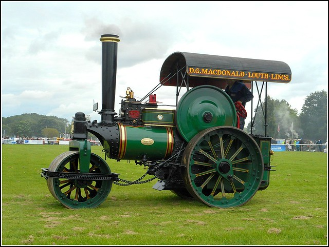 Old Steam Roller ..