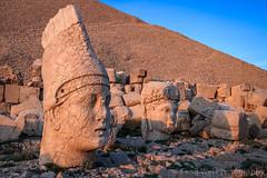 Statues Of Gods, Tomb of King Antioch I of Commagene, Mount Nemrut, Turkey