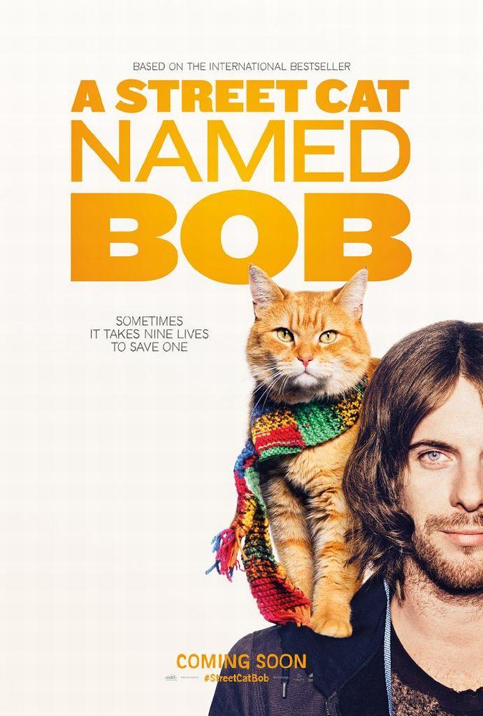 ボブという名の猫 幸せのハイタッチのポスター