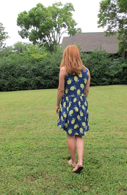 Lemon Rayon Alder Dress