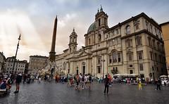 Piazza Navona Roma - Italia.