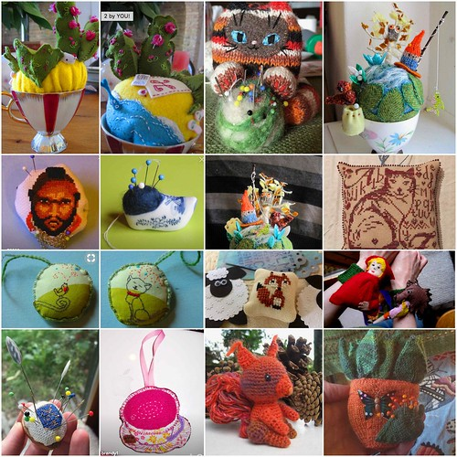 BeFunky Collage my pincushions