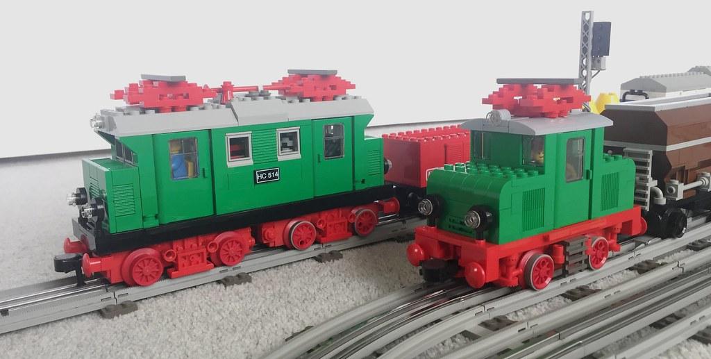 LEGO 12 Volt grey era MOCs