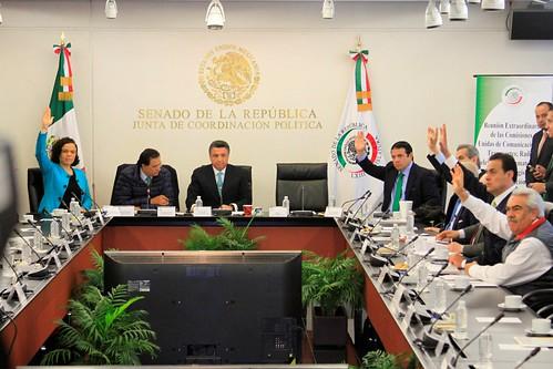 Comisiones Unidas de Comunicaciones y Transportes; Radio, Televisión y Cinematografía y de Estudios Legislativos 12/sep/17