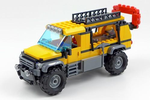 LEGO City Jungle 60161 Jungle Exploration Site 56
