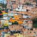 Wall of Homes, Bucaramanga Colombia