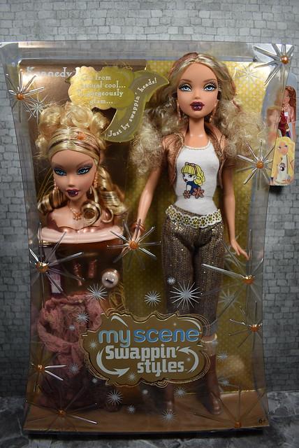 2006 Barbie My Scene Swappin' Styles Kennedy K3171 (3)