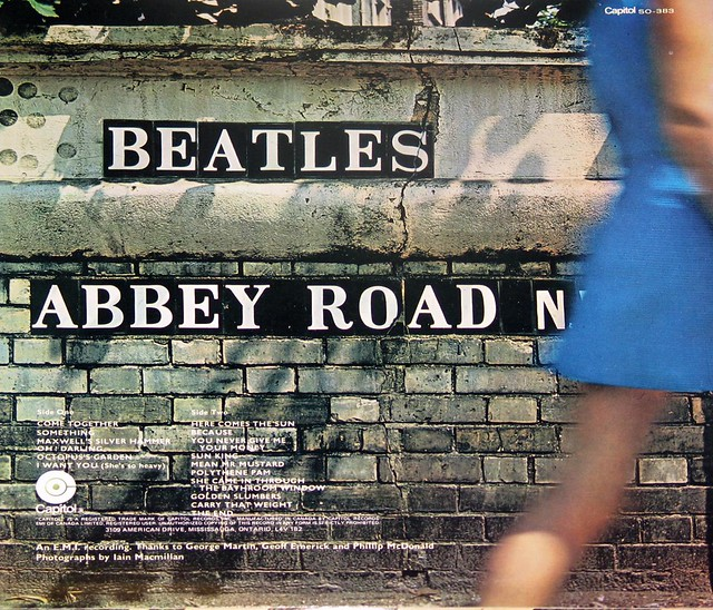 "BEATLES Abbey Road Canada Capitol Records 12"" LP VINYL"