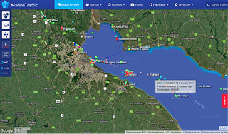 MarineTraffic Map