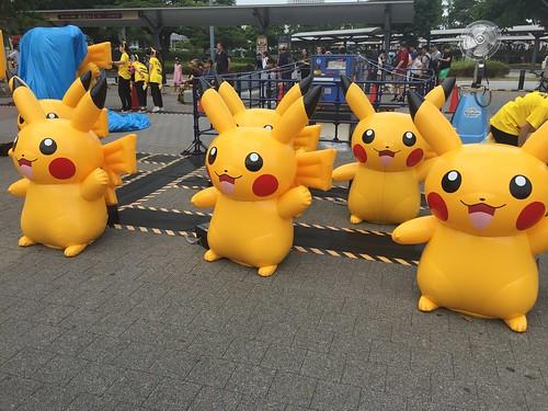 Pokémon GO PARKを満喫しました。
