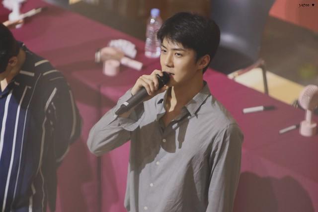 170815 EXO at 'The War' Daegu and Busan Fansign