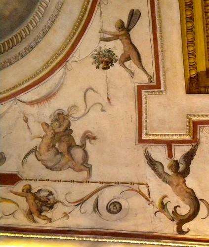 Grottesca Palazzo Vecchio Firenze